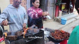 Street food in Nepal Palpa Food Festival 2075