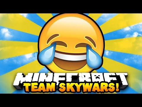"Minecraft TEAM SKYWARS ""FUNNY FAILS!"" #11   w/PrestonPlayz & PeteZahHutt"