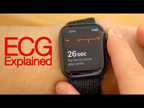 Testing ECG on Apple Watch Series 4: How it works!