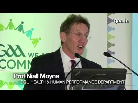 2016 GAA Health and Wellbeing Keynote Address: Niall Moyna (DCU)