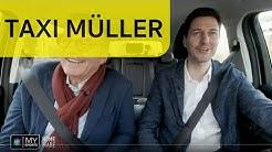 Taxi Müller: Mit IIHF-Präsident René Fasel