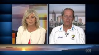 Australian cricket team doctor Peter Brukner joins ABC News Breakfast