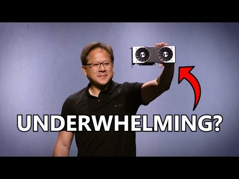 Something's Fishy about Nvidia's RTX Graphics Card Launch...
