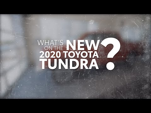 New Features Of The 2020 Toyota Tundra | Apple CarPlay & Push Start | Toyota Of Irving In Dallas