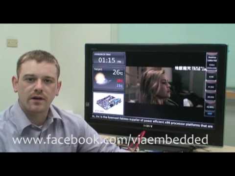 New VIA P720 Pico-ITX Plays HD Video