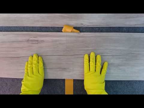 How To Install Wood Vinyl Flooring Yourself DIY by Alaqsa Carpets | Pasang Lantai Kayu DIY