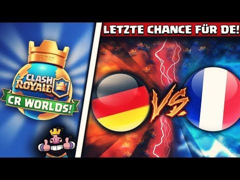 LETZTE CHANCE! | Deutschland vs Frankreich! | Top Favoriten im Duell! | CR Worlds