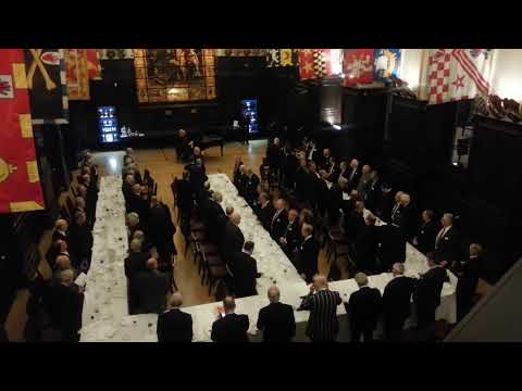 Stationers' School song at Stationers' Hall