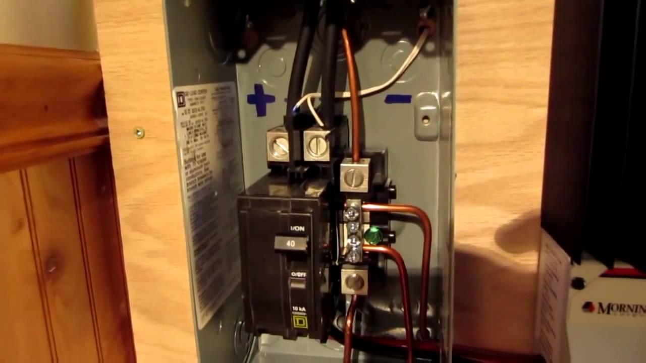 Diy Solar Panel System Off Grid Ground Mount 300 Watts From Youtube Series Wiring Diagram