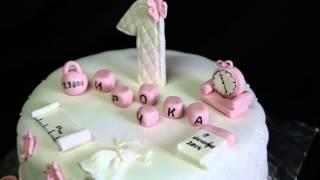торт Ирине на 1 годик | торт на заказ(, 2015-12-09T16:08:13.000Z)