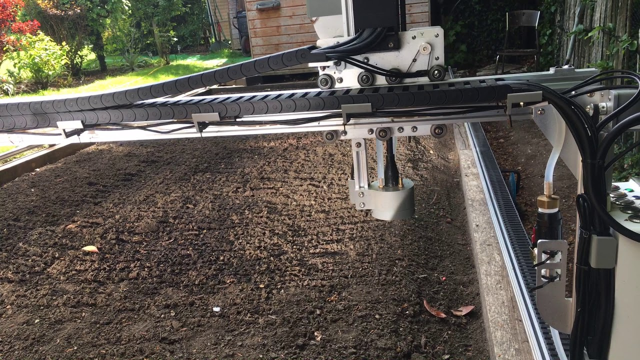 Farmbot awakens (slowly)