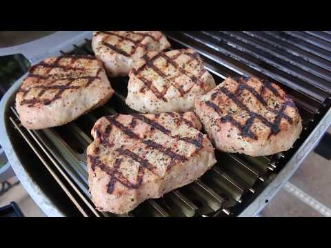 Malcom Reed from How to BBQ Right grills the perfect Steakhouse Chops on the Patented PK360.