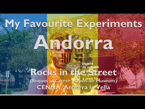 MFE - Andorra - Rocks in the Park (Roques al Carrer) - CEMNA, Institut d'Estudis Andorrans