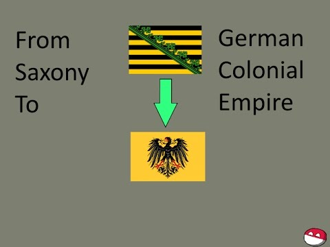 Europa Universalis 4 German Colonial Empire Timelapse