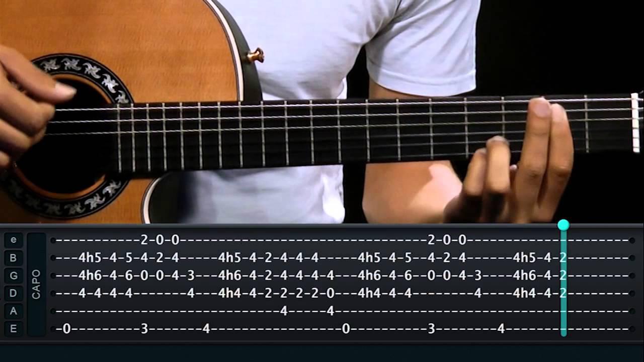 Djavan - Samurai - Aula de violão - TV Cifras