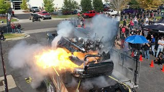 3000hp Dyno Explosion of Master Shredder - Shawn Baca