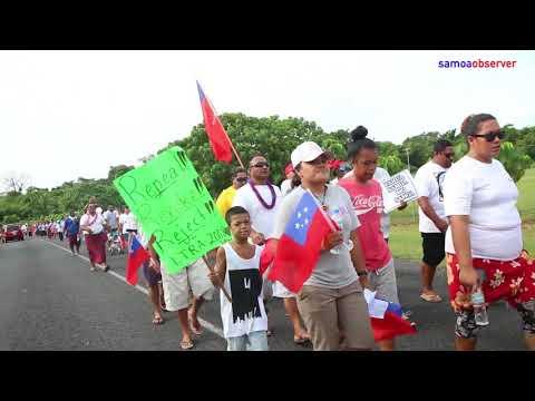 'Samoa not for sale'
