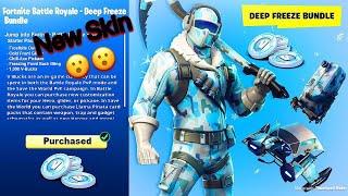 New Frostbite Skin(Ice Bundle)-Fortnite-