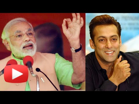 Narendra Modi Posts A Message For Salman Khan - Find Out