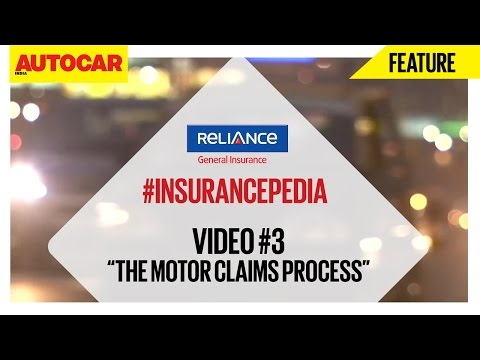 #InsurancePedia | Video 03 | The Motor Claims Process | Presented By Reliance General Insurance