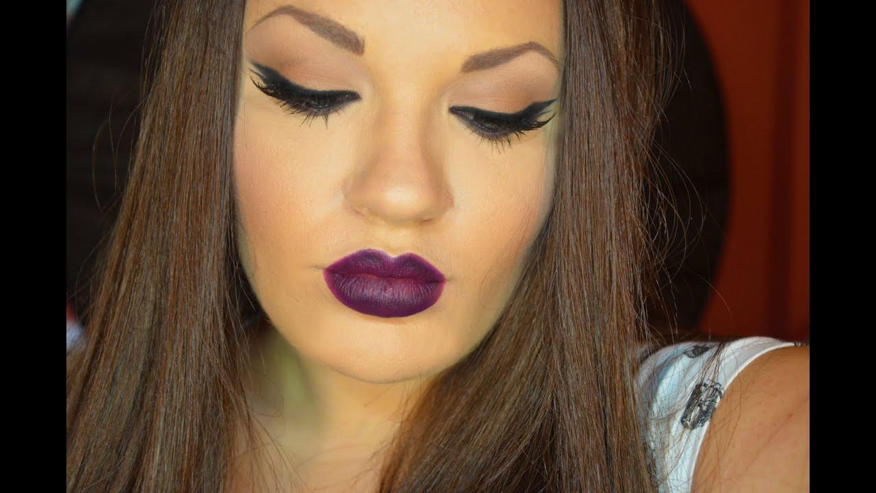 Glam Rock Makeup - YouTube