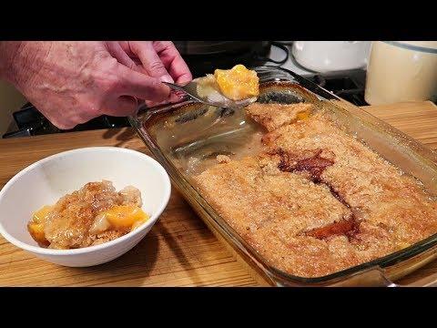 super-easy-peach-cobbler