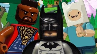 batman harry potter tom cruise and mr t beat each other up in lego dimensions up at noon live