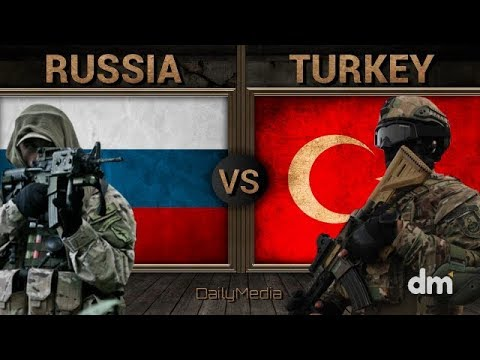 Russia vs Turkey - Army/Military Power Comparison 2018