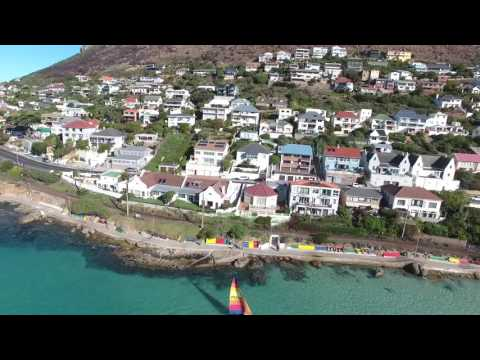 Fish Hoek With The Drone.
