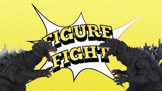 FIGURE FIGHT! GODZILLA 2001: S.H. MonsterArts vs NECA