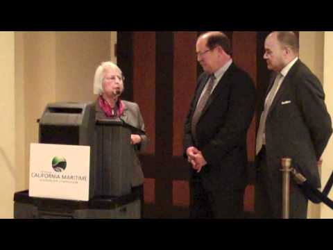 Richard D. Steinke Accepts California Maritime Leadership Symposium Award