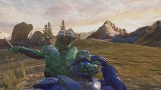 Halo 5 - Slow Motion Default Assassinations & Get Low