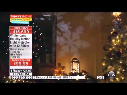 Winter Lane Holiday Motion Light Projector with 12 Slides 7 15 15 Shivan - Winter Lane Holiday Motion Light Projector With 12 Slides 7 15 15