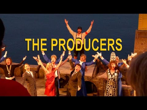 The Producers Show & Photos at the Minack Theatre