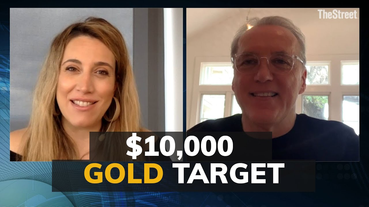 "Gold price tracking – could be $10k before we win ""WW3"" says Frank Holmes"