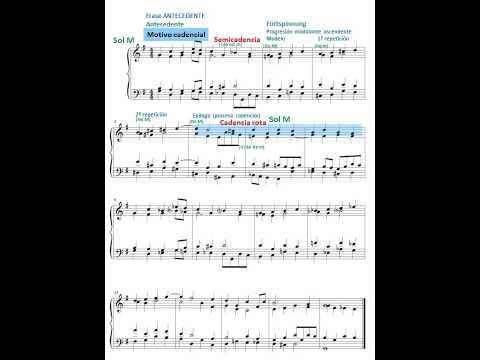 Armonía 18. Melodía. Armonización.  Análisis Formal. Estructura. Motivos.