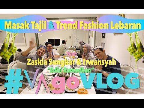 Ngabuburit : Zaskia Sungkar & Irwansyah | #VAgoVLOG eps. 7