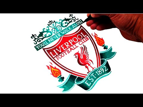 How To Draw The Liverpool Fc Logo Best On Youtube Youtube