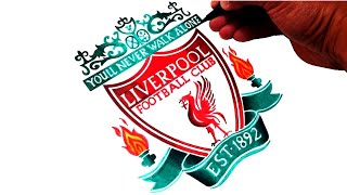 How to Draw the Liverpool FC Logo - Best on Youtube!!!