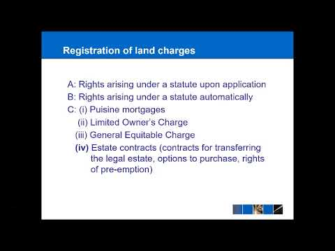 Land Law - Unregistered Land