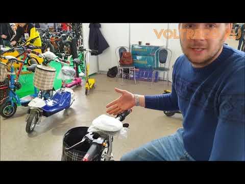 Электросамокат трехколесный Voltrix Mini Trike электроскутер трицикл Обзор Voltreco.ru