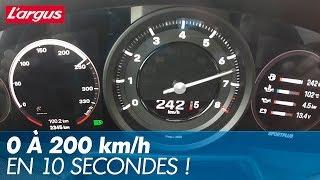 Acceleration Porsche 911 Carrera S (992) : 0-240 km/h