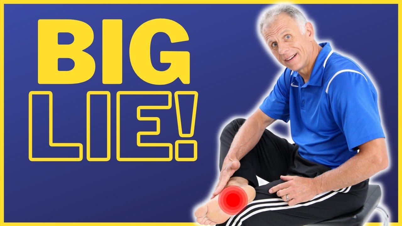 Download The Big Lie About Heel Spurs, Heel Pain, & Plantar Fasciitis.