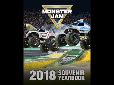 Monster Jam Fargo Haul & Yearbook Review 2018!