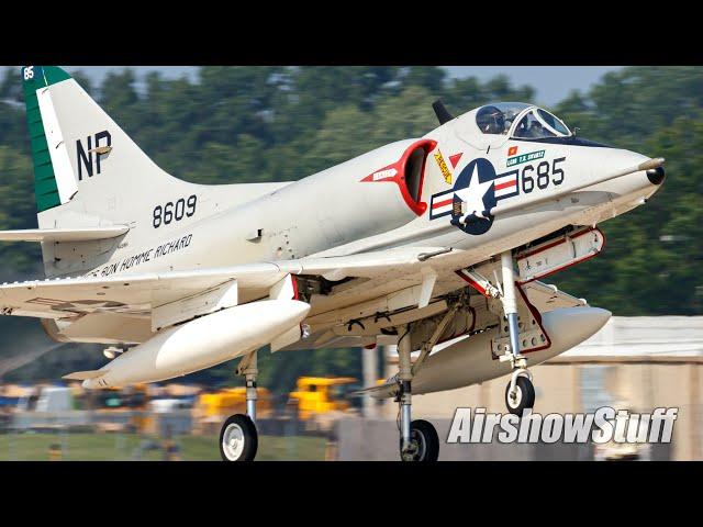 Amazing Jet Warbird Flybys! (Part 3)