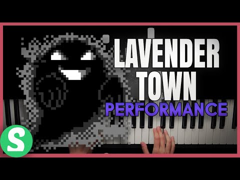 """Lavender Town"" From Pokemon Red, Blue & Yellow (Piano Cover) Ft. Sydney Kjerstad"