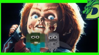 Monster School : CHUCKY HORROR GAME CHALLENGE - Funny Minecraft Animation