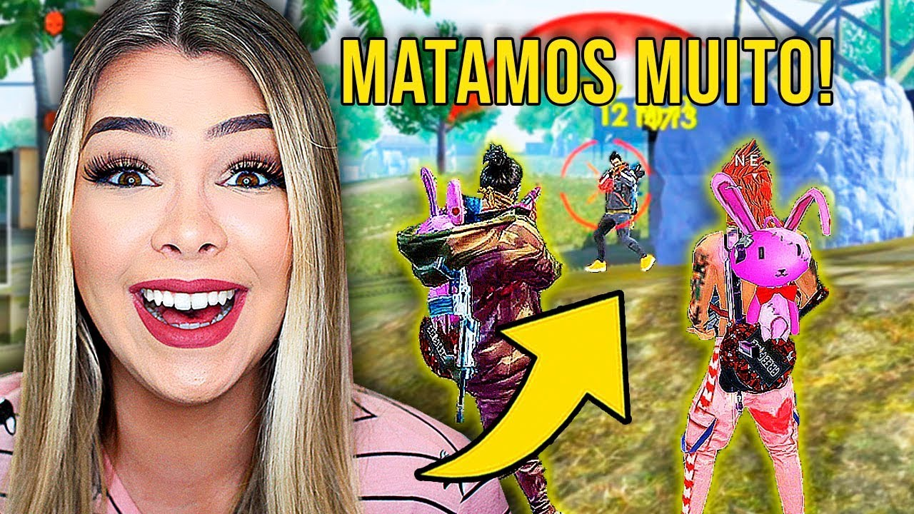 INGREDY BARBI GAMES - Matamos METADE DO MAPA na RANQUEADA do Free Fire ????????