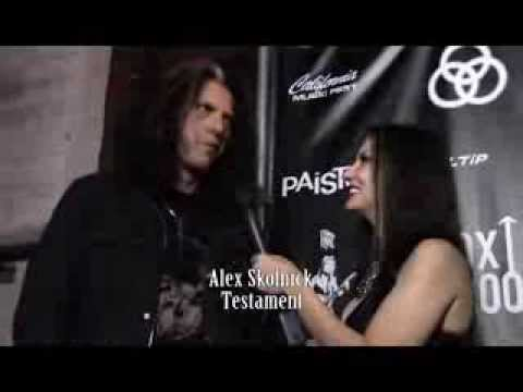 Testament Alex Skolnick at Randy Rhoads Remembered