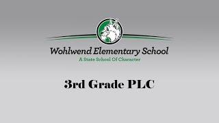 WES 3rd Grade PLC Thumbnail